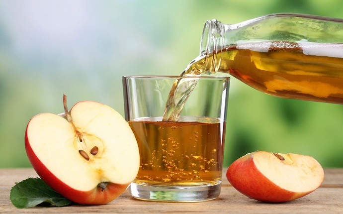 scalp acne treatment - apple cider vinegar