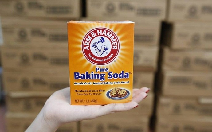 how to get rid of white tongue - baking soda