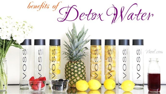 benefits of detox water for health