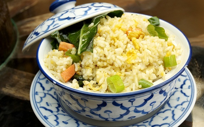 egg fried rice recipes - egg fried rice and ham
