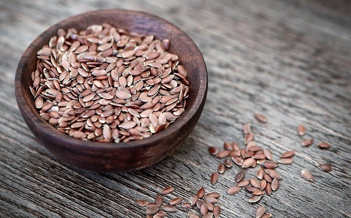 how to lose chest fat - flaxseeds