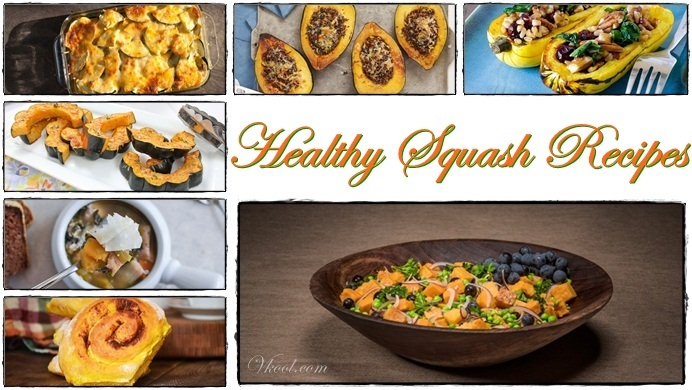 List Of 15 Healthy Squash Recipes