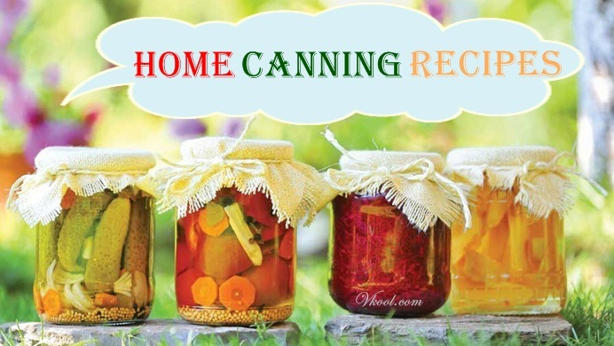 10 Home Canning Recipes For Winter Storage