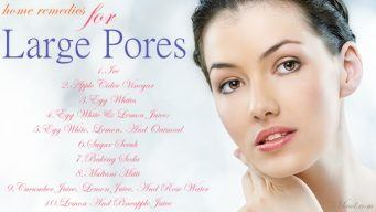 effective home remedies for large pores