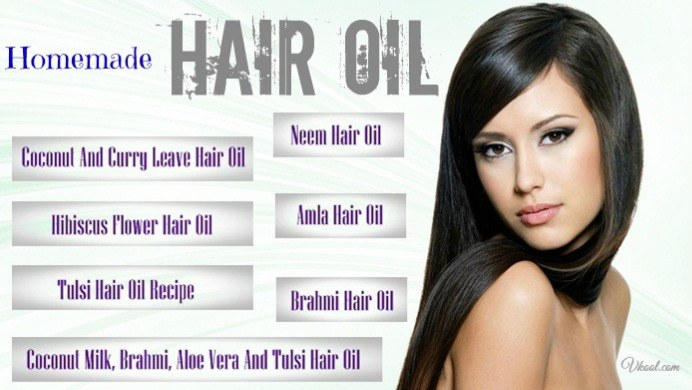 Top 7 Natural Homemade Hair Oil Treatments