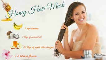 honey hair mask for dry hair