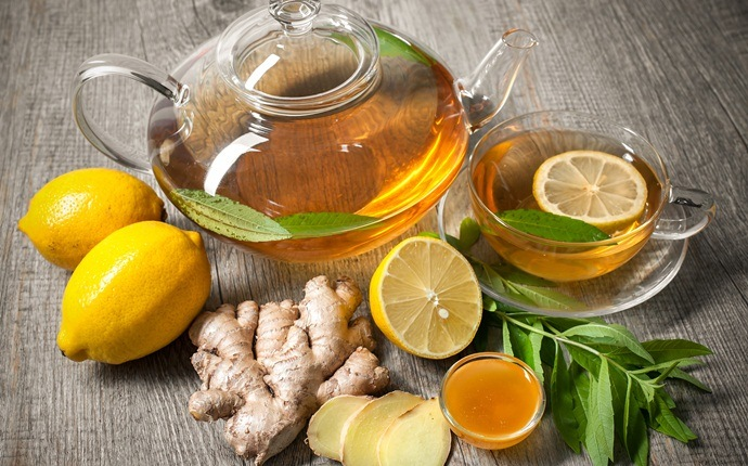 honey for diabetics - honey, lemon and ginger tea