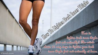 how to lighten dark inner thighs naturally