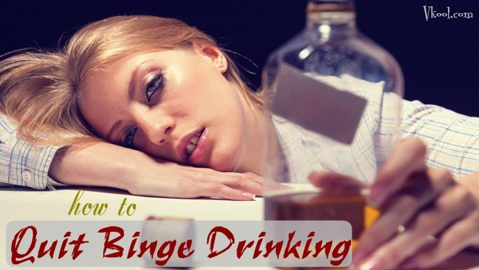 how to quit binge drinking