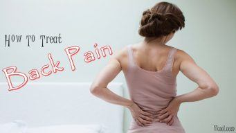 how to treat back pain naturally