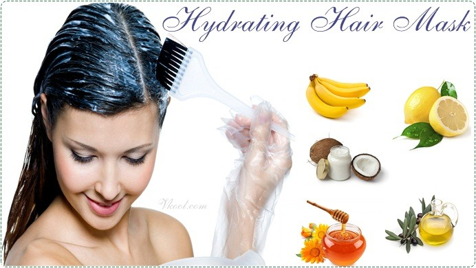 7 Natural Homemade Hydrating Hair Mask Recipes For Hair Types