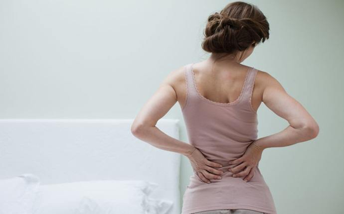 symptoms of fibroids - lower back pain