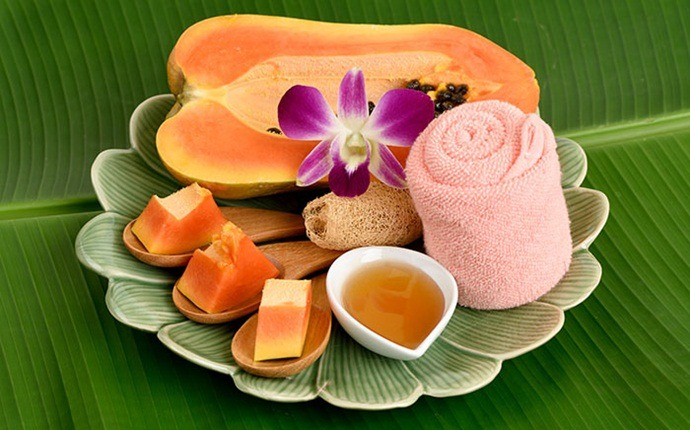papaya for acne - papaya and honey