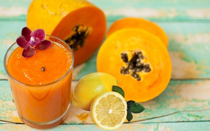 papaya for acne - papaya and lemon juice