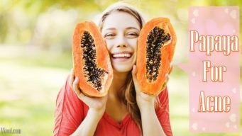how to use papaya for acne