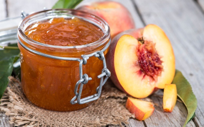 home canning recipes - peach jam