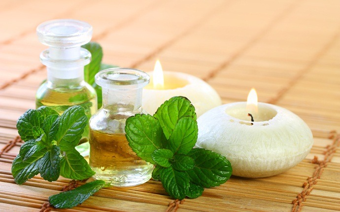 oils for headaches - peppermint