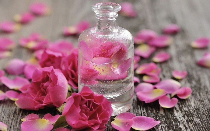 oils for headaches - rose water