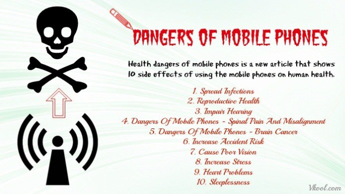 health dangers of mobile phones