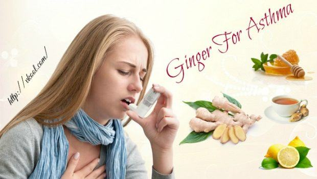 how to use ginger for asthma