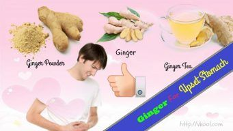 how to take ginger for upset stomach