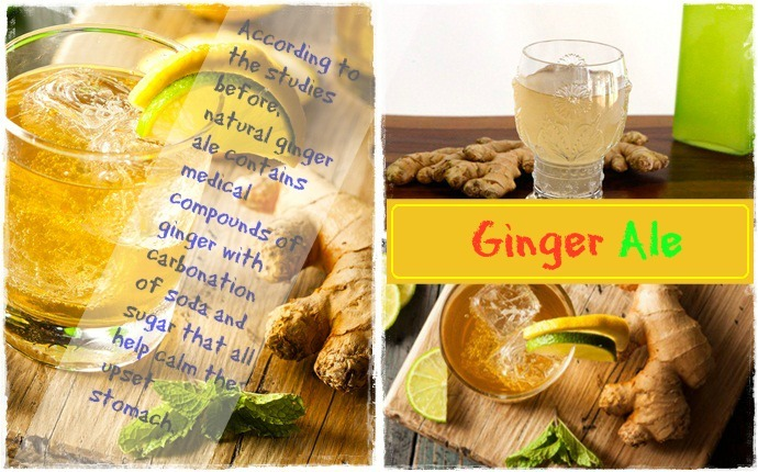 ginger for upset stomach-ginger ale