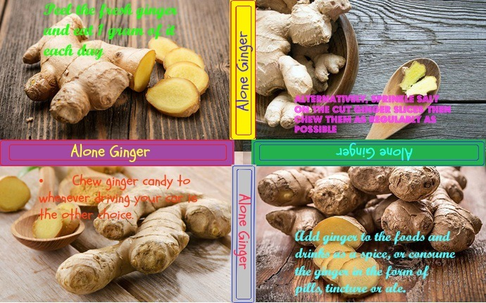ginger for upset stomach-alone ginger