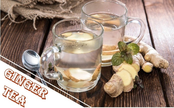 ginger for asthma - ginger tea