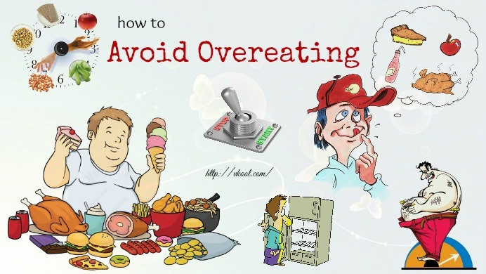 how to avoid overeating naturally