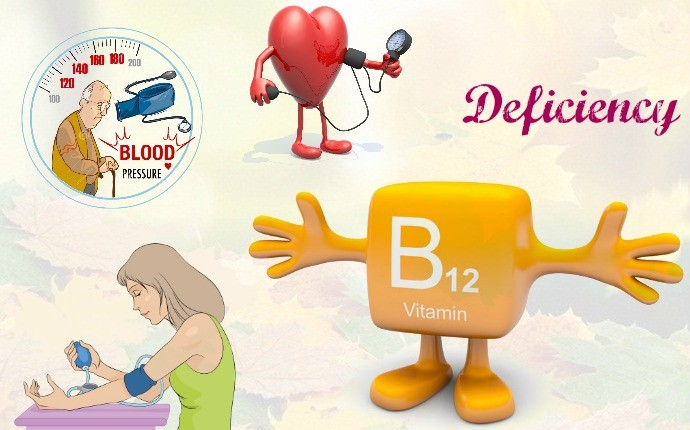 symptoms of vitamin b12 deficiency - low blood pressure