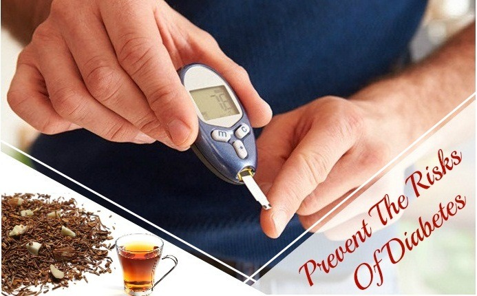 benefits of rooibos tea - prevent the risks of diabetes