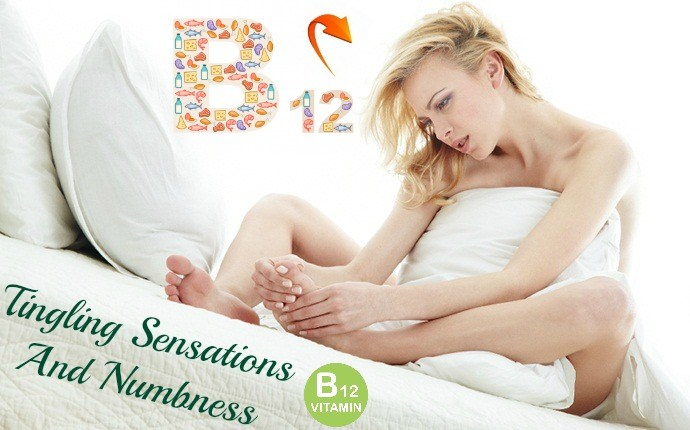 symptoms of vitamin b12 deficiency - tingling sensations and numbness