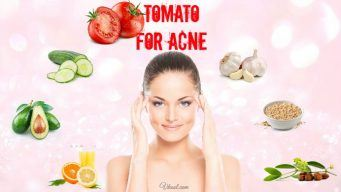 how to use tomato for acne