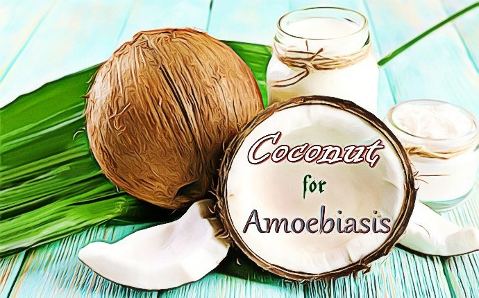 treatment for amoebiasis - coconut