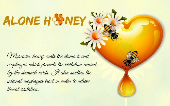 honey for acid reflux - alone honey