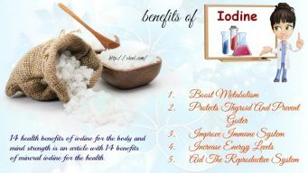 benefits of iodine for the body