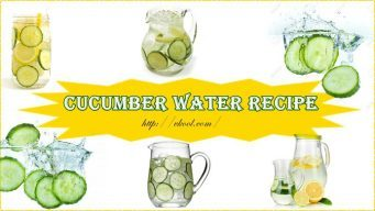 how to make cucumber water recipe