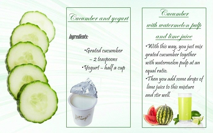 skin rejuvenation treatments - cucumber