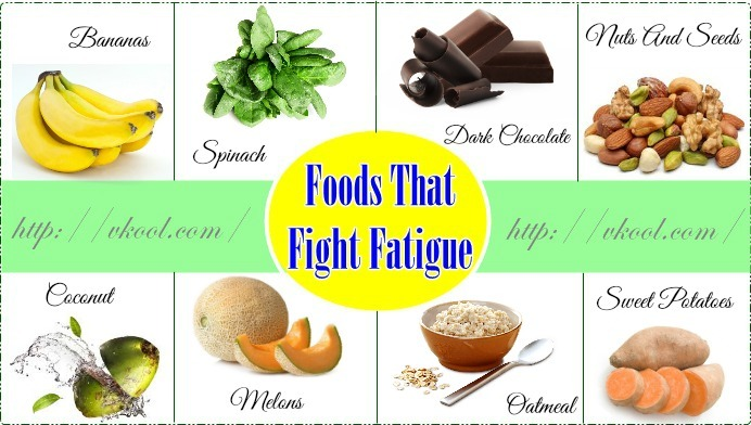 healthy foods that fight fatigue