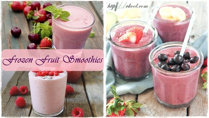 best frozen fruit smoothies