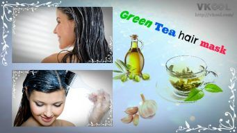 green tea hair mask