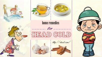 best home remedies for head cold