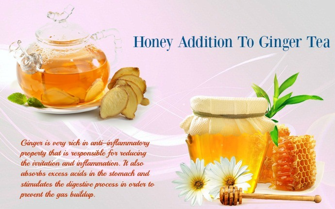 honey for acid reflux - honey addition to ginger tea
