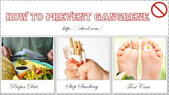 how to prevent gangrene from spreading