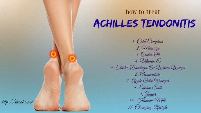 how to treat achilles tendonitis naturally