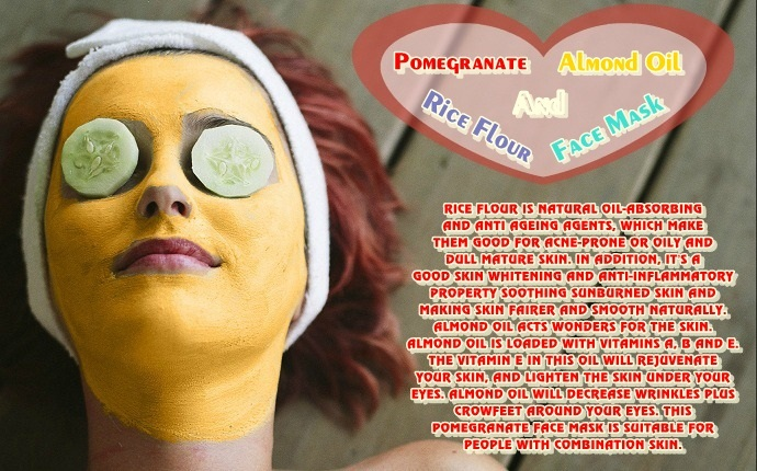 pomegranate-face-mask-pomegranate-almond-oil-and-rice-flour-face-mask