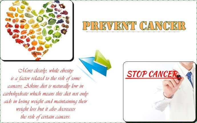 benefits of atkins diet - prevent cancer
