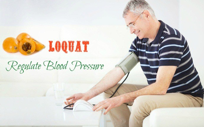 benefits of loquat - regulate blood pressure