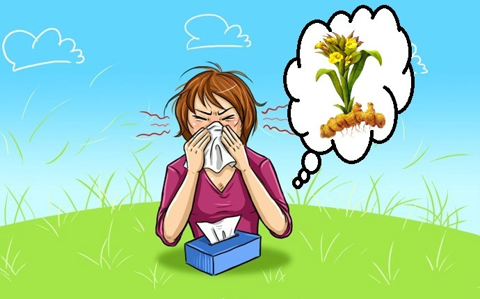 how to treat allergic rhinitis - turmeric