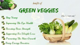 health benefits of green veggies